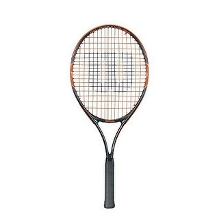 Wilson Unisex Burn Team 25 Tennis Racket, Black/Orange, 3 7/8
