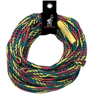 """""""Airhead 60 Feet Long 4 Rider Tube Tow Rope 4 Rider Tube Tow Rope"""""""