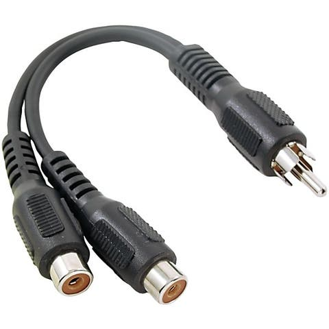 Rca Ah25R Rca Y-Adapter (1 Male To 2 Females)