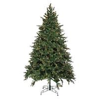 9' Pre-Lit Hunter Fir Full Artificial Christmas Tree - Clear Lights