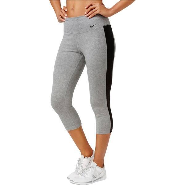 Shop Nike Womens Crop Leggings Yoga Fitness Overstock 19385073