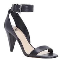 Vince Camuto Women's Caitriona Ankle Strap Sandal Black Brulee