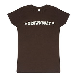 Firefly Browncoat Women's Brown T-shirt