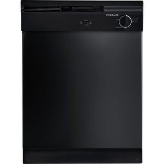 "Frigidaire FBD2400K 24"" Built-In Dishwasher with Tall-Tub Design and Quiet Operation"