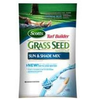 Scotts 18139 Turf Builder Sun And Shad Grass Seed, 20 lbs