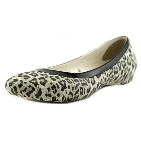 Crocs Lina Graphic Women Round Toe Synthetic Flats