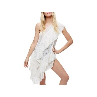 Free People Womens Casual Dress Eyelet One Shoulder