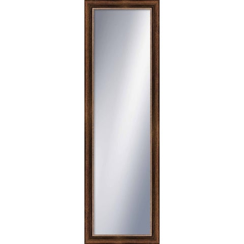 PTM Images 5-1294 52 Inch x 16 Inch Rectangular Framed Mirror - Gold - N/A