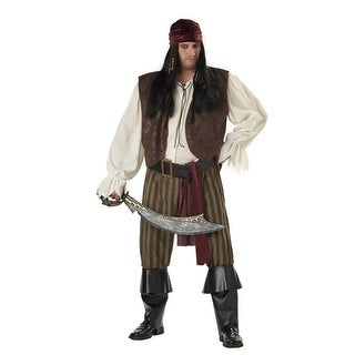 Rogue Pirate Adult Mens Big and Tall Halloween Costume 48-52 - big & tall