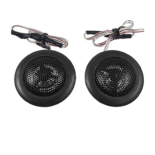 Unique Bargains Unique Bargains Auto Car Truck Flush Mount Round Horn Speaker Black 2 Pcs