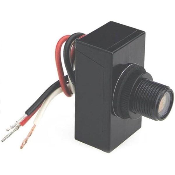 American Tack & Hardware 758M Light Post Eye Control, 500 Watt, Black