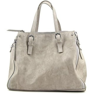 Urban Expressions Candace Women Vegan Gray Satchel