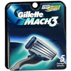 Gillette MACH3 Cartridges 5 Each