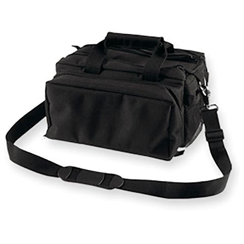 Bulldog Deluxe Range Bag with Strap - Black