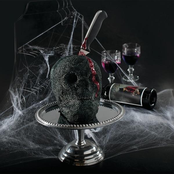 Nordic Ware Haunted Skull Pan. Opens flyout.