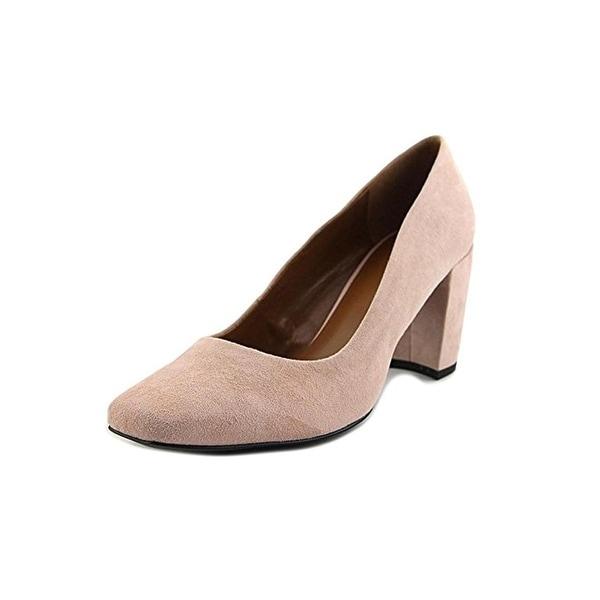 H Halston Womens Whitney Dress Pumps Square Toe