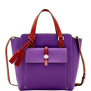 Dooney & Bourke Cambridge North South Shopper (Introduced by Dooney & Bourke at $398 in Dec 2016) - Violet