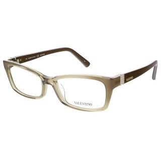 Valentino V2615R 303 Khaki/Brown Rectangular Valentino Eyewear