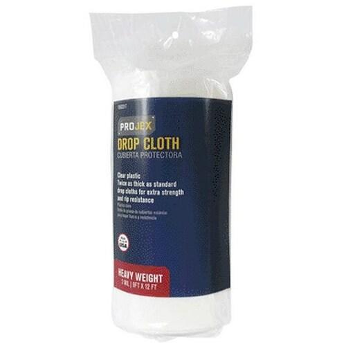 Projex 1560317 Drop Cloth, 9' x 12', 2 Mil