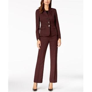 Link to Le Suit Womens Cabernet Dress Pants, Red, 6 Similar Items in Suits & Suit Separates