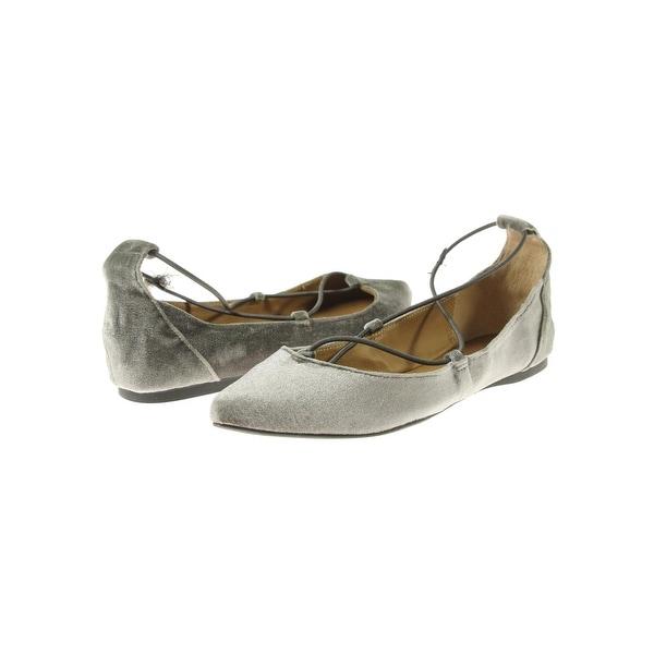 9716a05be39 Steve Madden Womens Bora Flats Velvet Pointed Toe