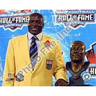 Photofile Bruce Smith 2009 NFL Hall of Fame Induction Ceremony