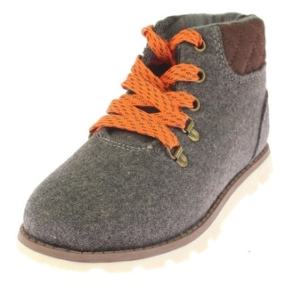 Carters Boys Ankle Boots Colorblock Quilted