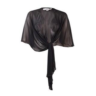 Tahari Women's 'Kevin' Chiffon Stole Wrap - L