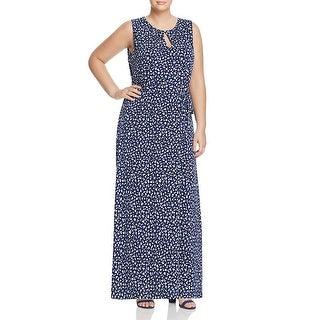MICHAEL Michael Kors Womens Plus Maxi Dress Jersey Printed
