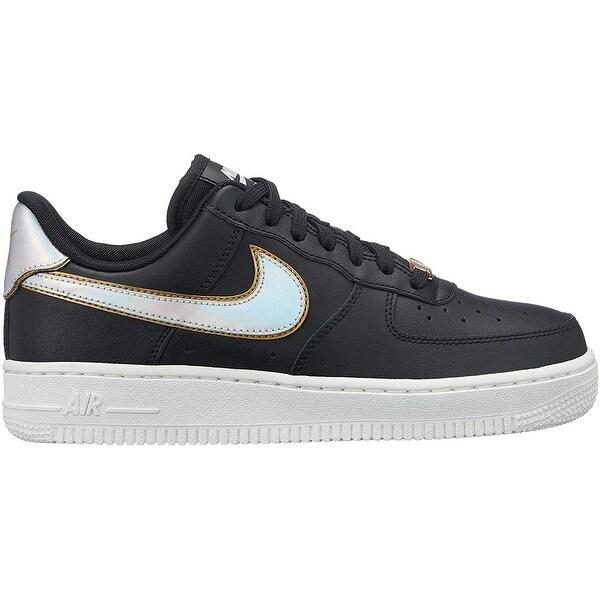 Shop Nike Air Force 1 '07 Metallic BlackMetallic Platinum