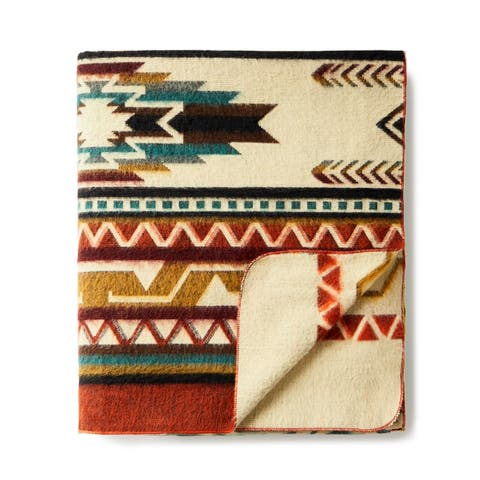Ultra Soft Southwestern Arrow Handmade Woven Blanket