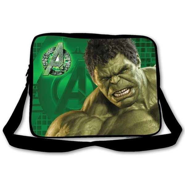 Marvel Age Of Ultron Messenger Bag Hulk Color Black