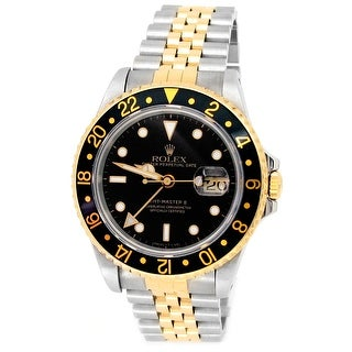 Link to Pre-owned 40mm Rolex Two-tone GMT-Master II Watch Similar Items in Men's Watches
