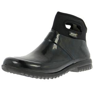 Bogs Outdoor Boots Womens Seattle Solid Mid Waterproof Rubber