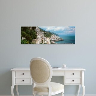 Easy Art Prints Panoramic Images's 'Amalfi, Italy' Premium Canvas Art