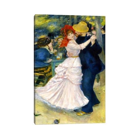"iCanvas ""Dance at Bougival"" by Pierre-Auguste Renoir Canvas Print"