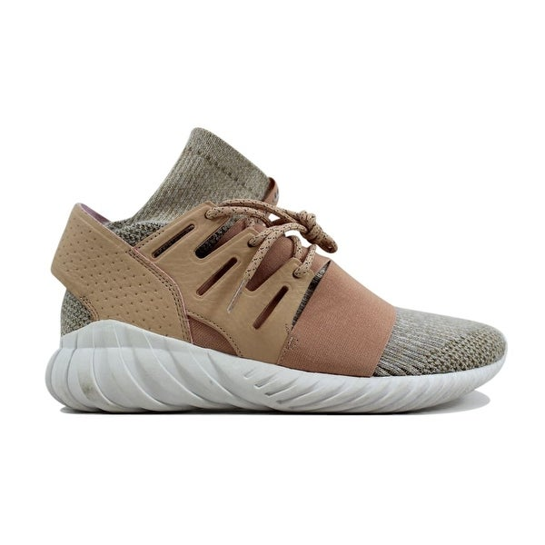 7e5bca789cc112 Shop Adidas Tubular Doom Primeknit Pale Nude Clear Brown-Vintage White  BB2390 Men s - Free Shipping Today - Overstock - 24306146