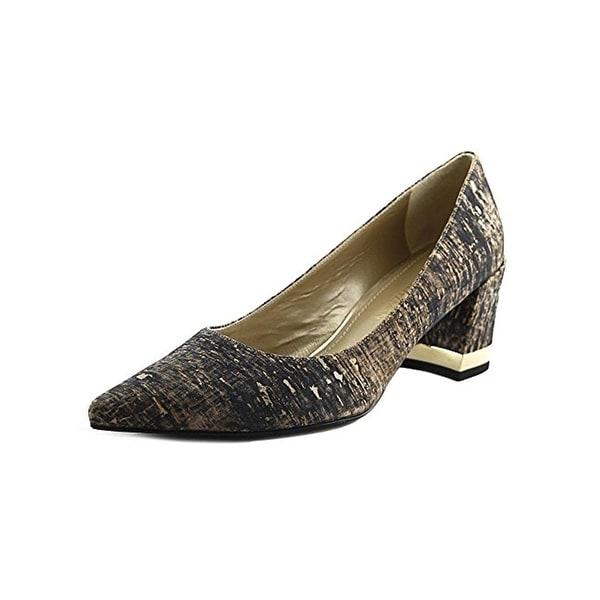Stuart Weitzman Womens Band Dress Heels Cork Pointed Toe