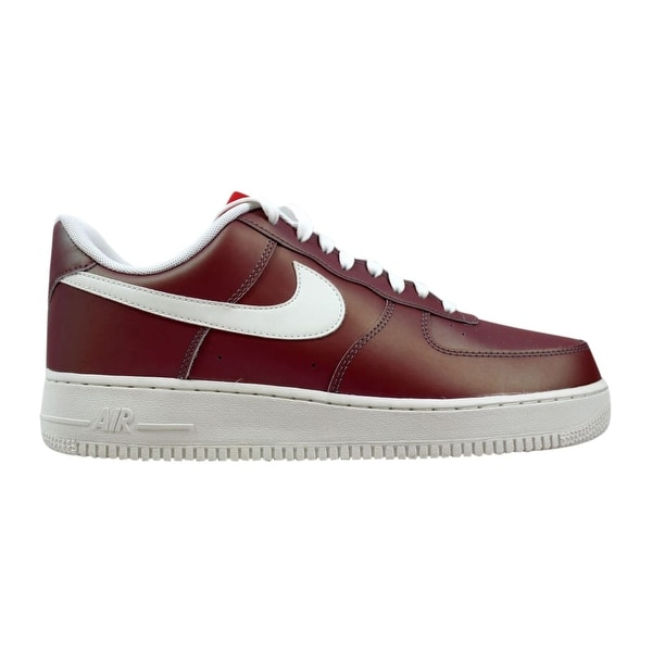Shop Nike Men s Air Force 1  07 LV8 Track Red Summit White-Black ... 707dca819