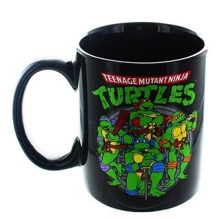 Teenage Mutant Ninja Turtles Group 20oz Mug - Multi