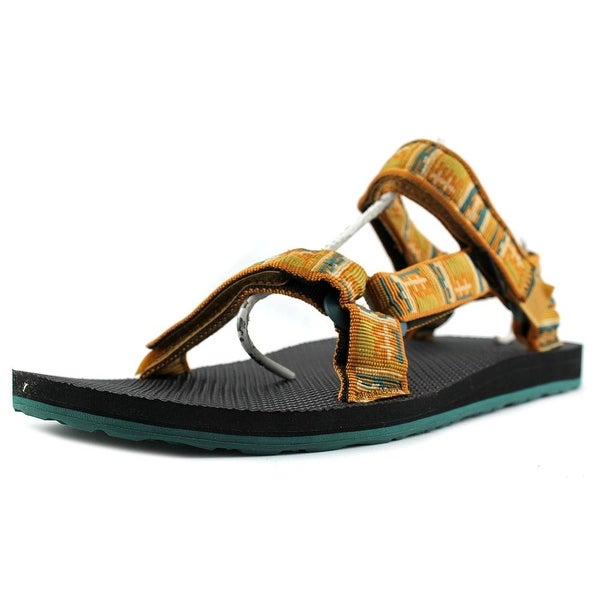 Teva Orginal Universal Inca Men Open-Toe Canvas Orange Sport Sandal