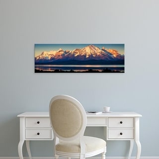 Easy Art Prints Panoramic Images's 'Sarmiento Lake, Torres del Paine National Park, Patagonia, Chile' Canvas Art