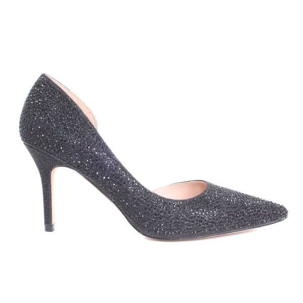 Allover Rhinestone Pump