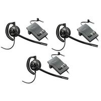Plantronics EncorePro HW530 with M22 (3-Pack) Over-the-Ear Mono Corded Headset