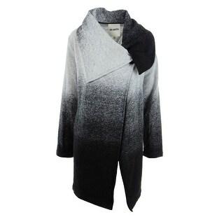BB Dakota Womens Coat Wool Blend Asymmetric