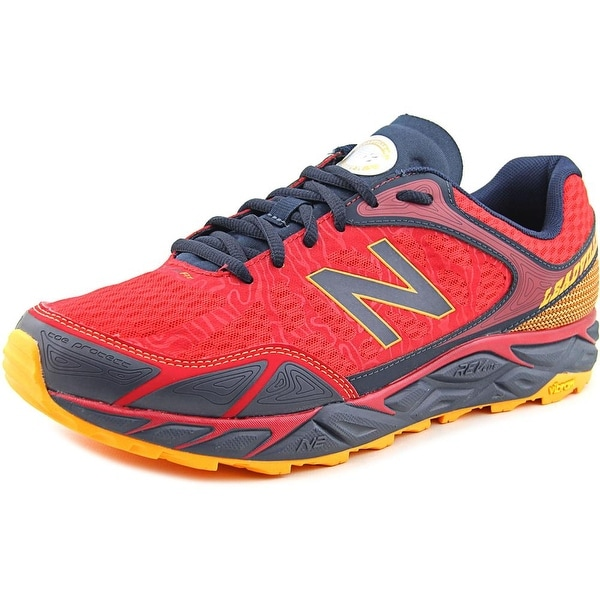 New Balance MTLEAD Men Round Toe Synthetic Red Running Shoe