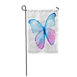 Pink Flying Color Watercolor Butterfly Blue Love Spring Amazing Garden Flag Decorative Flag House Banner 12x18 Inch N A On Sale Overstock 31333930