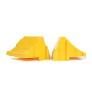Camco 44401 Leveling Block Wheel Chocks, Yellow