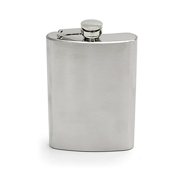 Chinook 41164 chinook 41164 stainless steel hip flask, 8oz