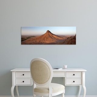 Easy Art Prints Panoramic Images's 'Landscape, Zagora, Morocco' Premium Canvas Art